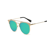 Retro Round Cat Eye Sunglasses Unisex