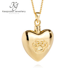 Gold Vermeil Pet Cremation Jewellery
