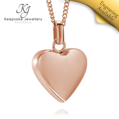 Amore Heart Necklace for Ashes RGSTS e