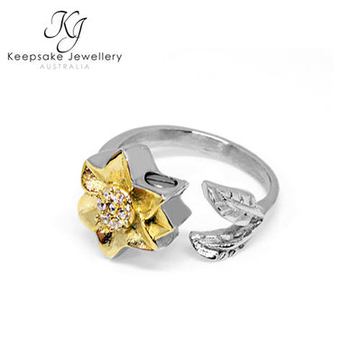 Forget Me Not Ashes Ring