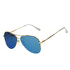 Gold Frame/Mirror Blue Lens