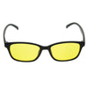 ZW3028 Classic Style Anti-Blue Light Glasses 54mm (Amber/Yellow Lens)