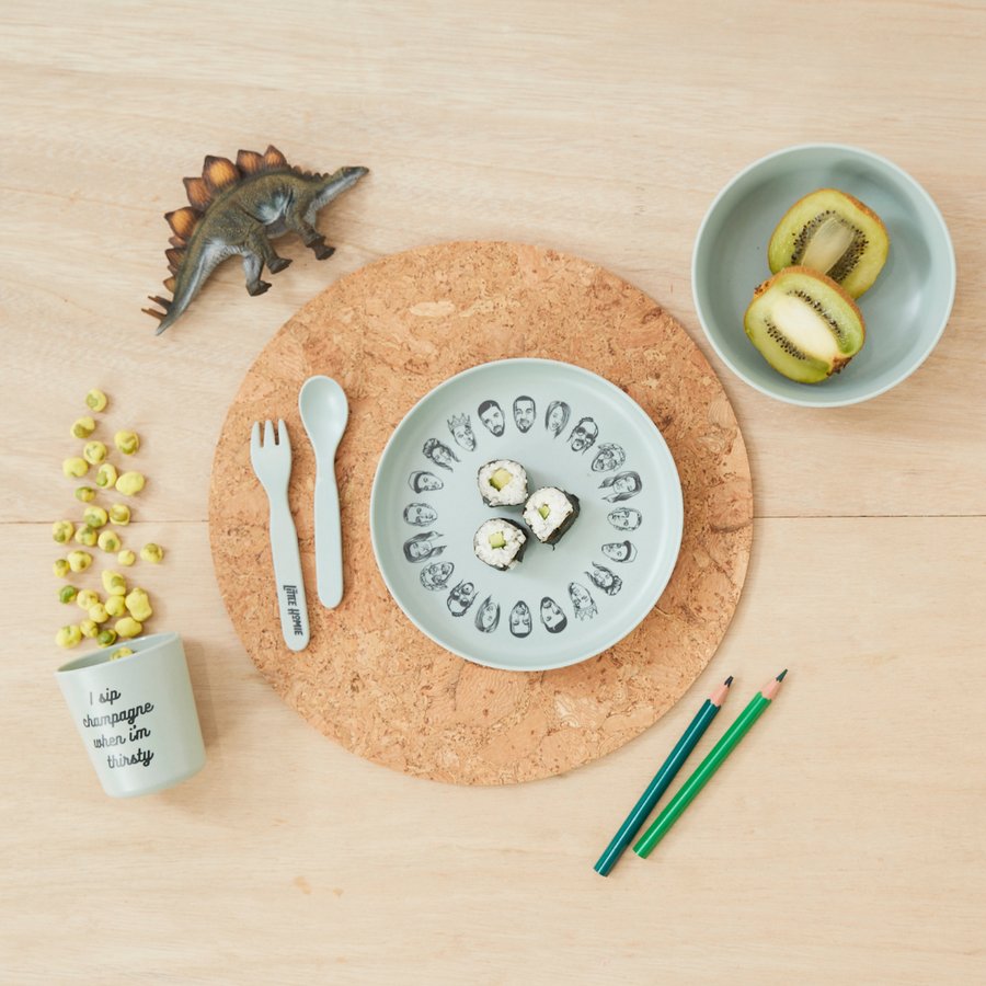 'Eat Was All A Dream' Bamboo Dinnerwear Set