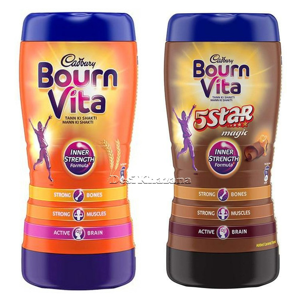 Cadbury Bourn Vita & 5 Star Magic Combo Pack Desi Khazana