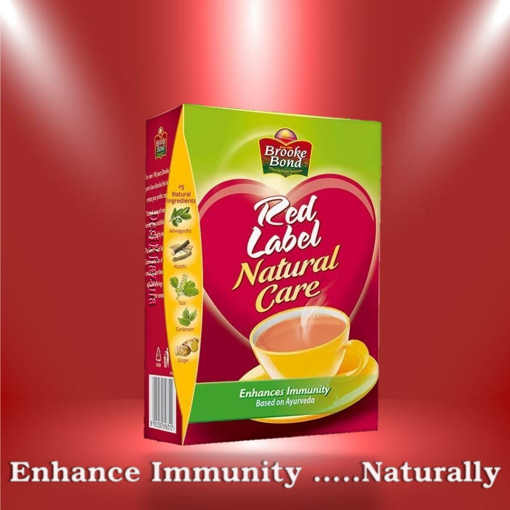 Brooke Bond Red Label Natural Care Tea Desi Khazana