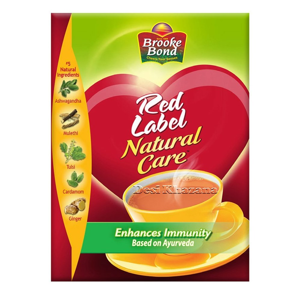 Brooke Bond Red Label Natural Care Tea 250 gm Desi Khazana