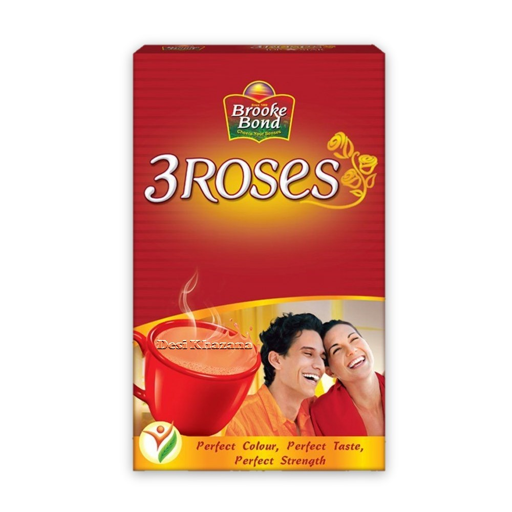 Brooke Bond 3 Roses Tea Desi Khazana