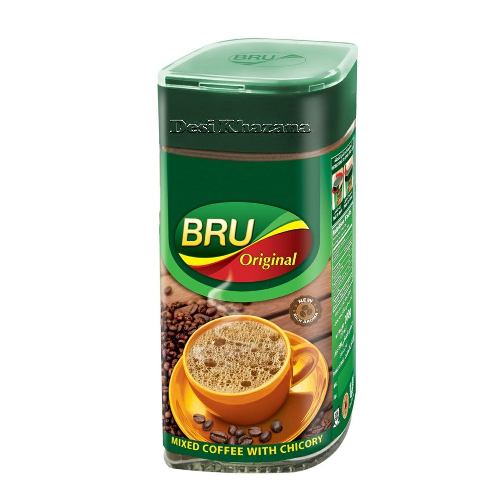 Bru Original Instant Coffee 100 gm - Desi Khazana