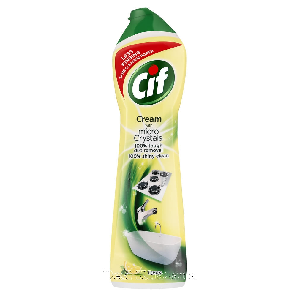 Cif Cream Lemon 500 ml - Desi Khazana