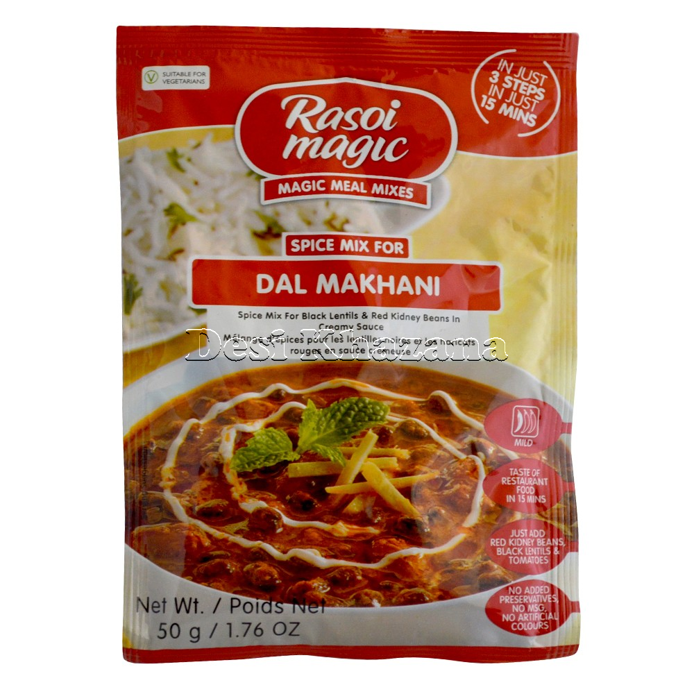 Rasoi Magic Dal Makhani Spice Mix - Desi Khazana