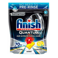 Finish Quantum Ultimate Lemon Sparkle Dishwasher Tablets
