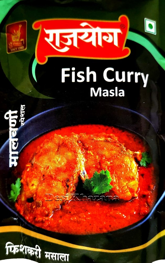 Rajyog Fish Curry Masala - Desi Khazana