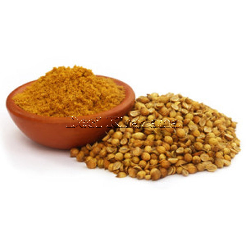 Desi Khazana Coriander Powder (Dhana Powder) (Sample) - Desi Khazana