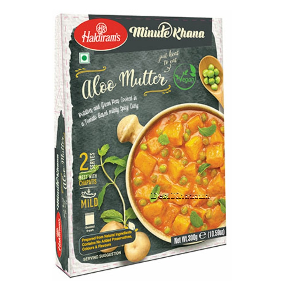 Haldiram's Ready To Eat Aloo Mutter Desi Khazana