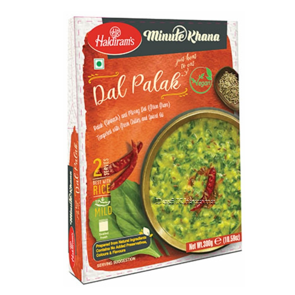 Haldiram's Ready To Eat Dal Palak
