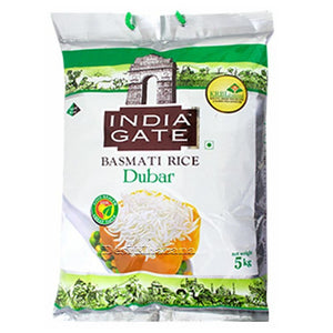 India Gate Durbar Basmati Rice 5 Kg - Desi Khazana