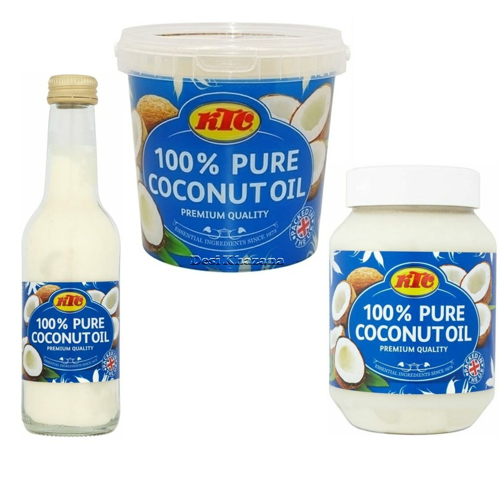 KTC 100% Pure Coconut Oil Desi Khazana