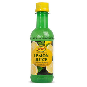 KTC Lemon Juice 250 ml - Desi Khazana