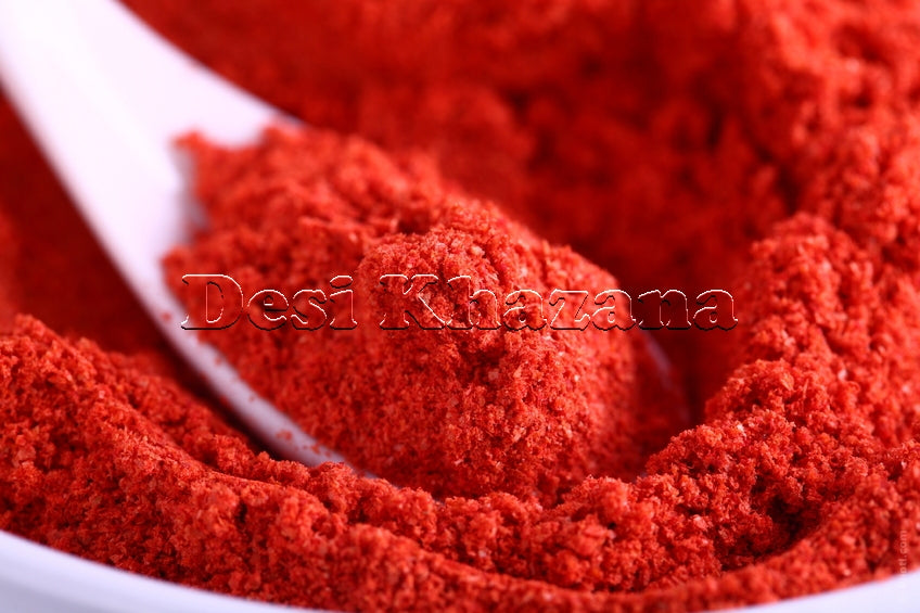 Desi Khazana Kashmiri Chilli Powder (Kashmiri Mirch Powder) - Desi Khazana