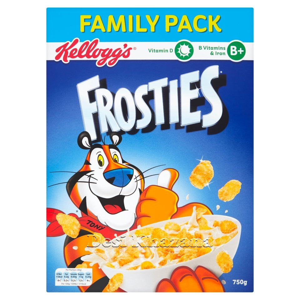Kellogg's Frosties 750 gm (Family Pack) - Desi Khazana
