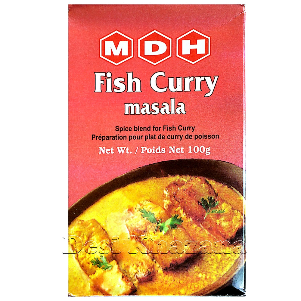 MDH Fish Curry Masala - Desi Khazana