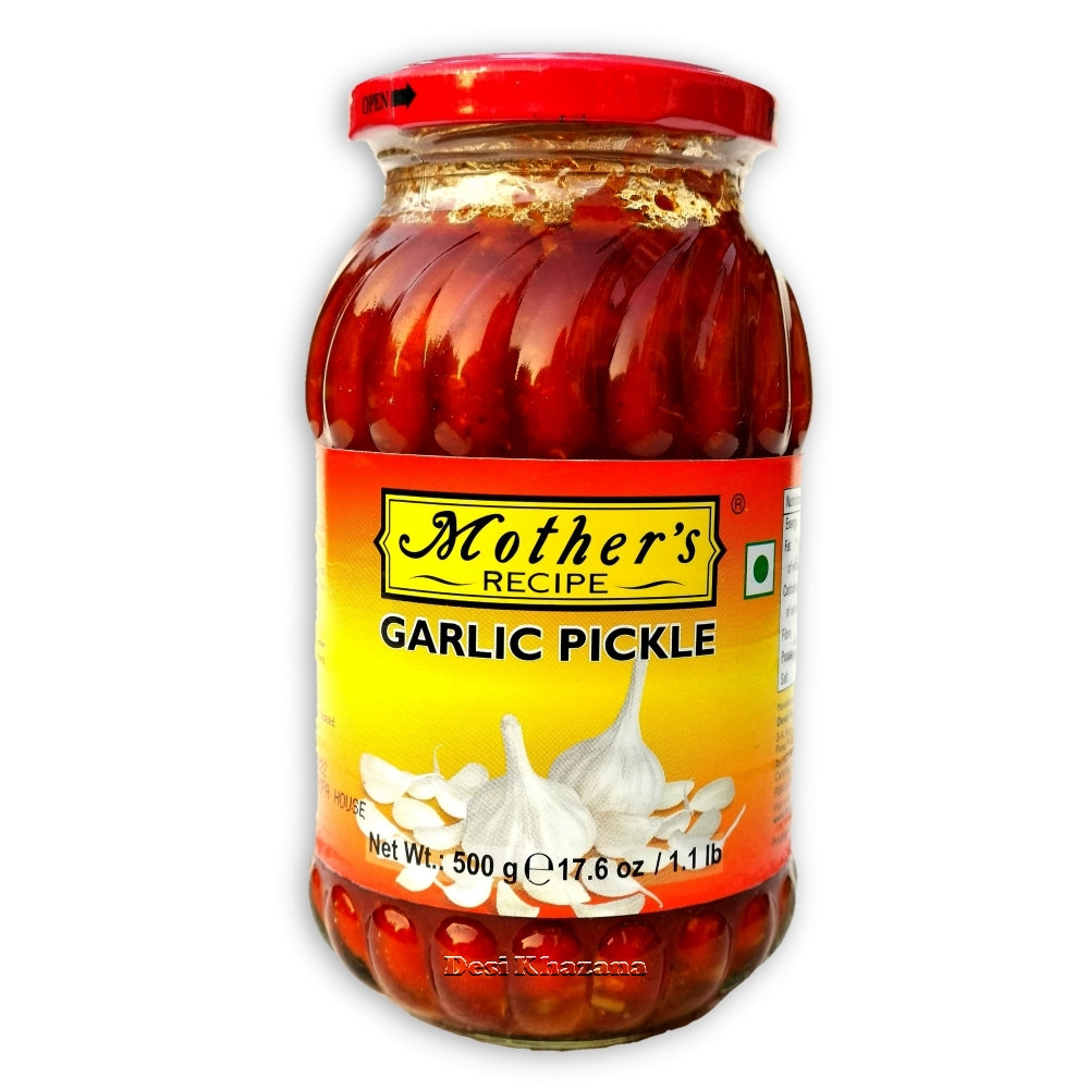 Mother's Recipe Garlic Pickle Desi Khazana