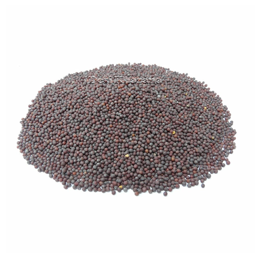 Black Mustard Seeds (SMALL) - Desi Khazana