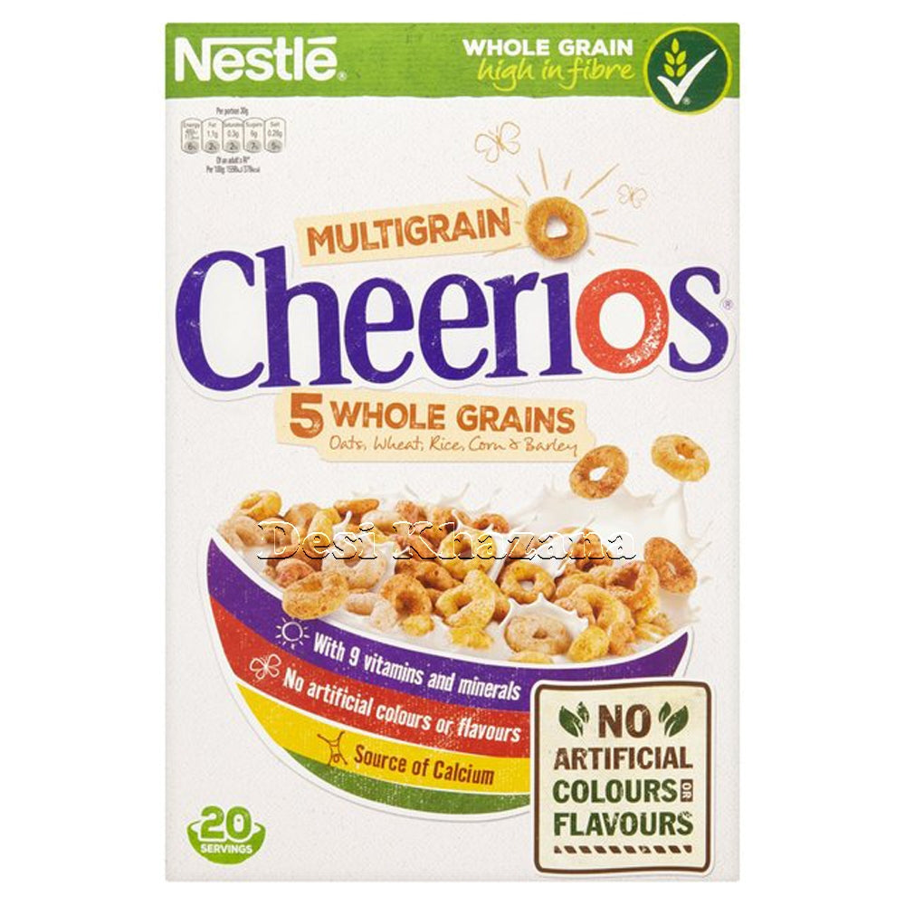 Nestle Multigrain Cheerios 600 gm - Desi Khazana