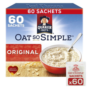 Quaker Oat So Simple Original (60 Sachets) - Desi Khazana