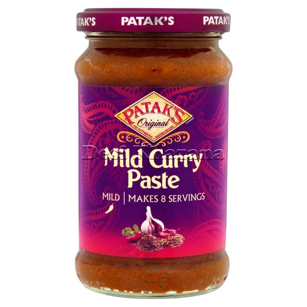 Patak's Mild Curry Paste - Desi Khazana