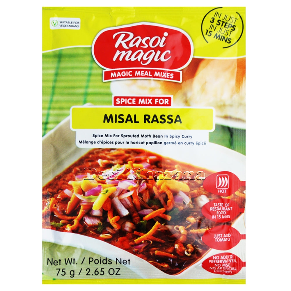 Rasoi Magic Misal Rassa Spice Mix - Desi Khazana