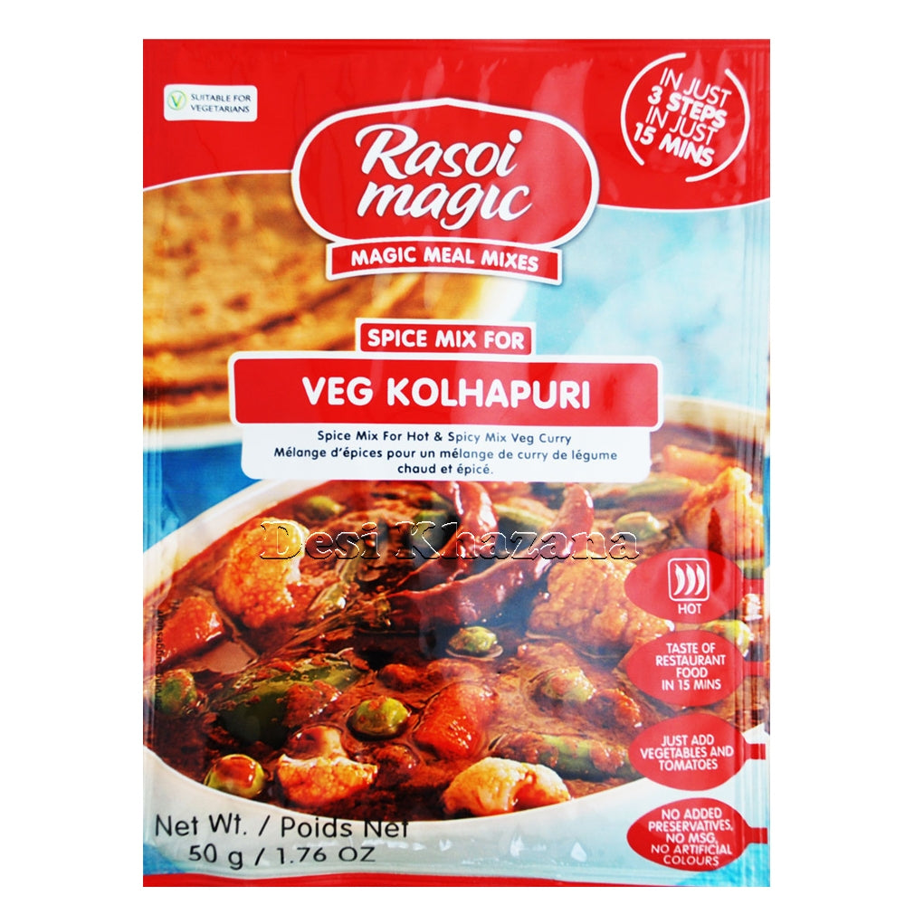Rasoi Magic Veg Kolhapuri Spice Mix - Desi Khazana