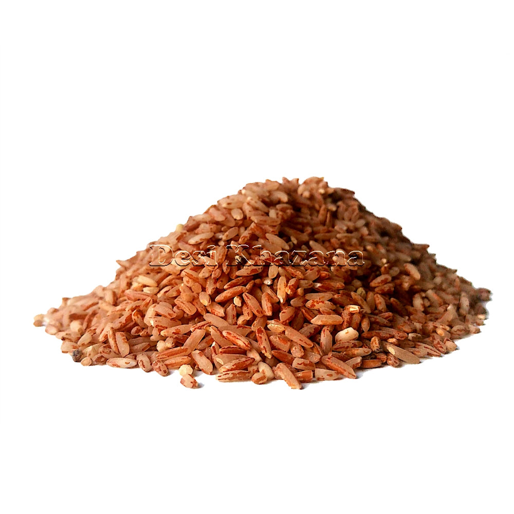 Desi Khazana Red Raw Rice (Sample) - Desi Khazana