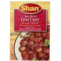 SHAN Liver Curry Spice Mix - Desi Khazana