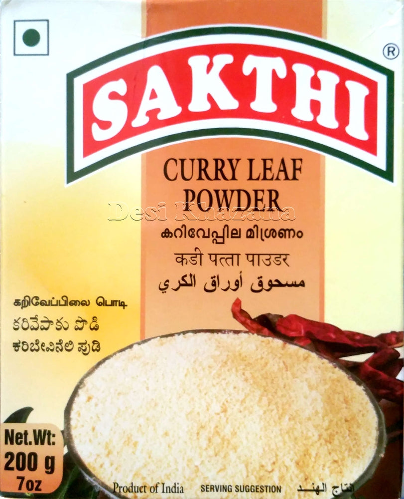 Sakthi Curry Leaf Powder - Desi Khazana