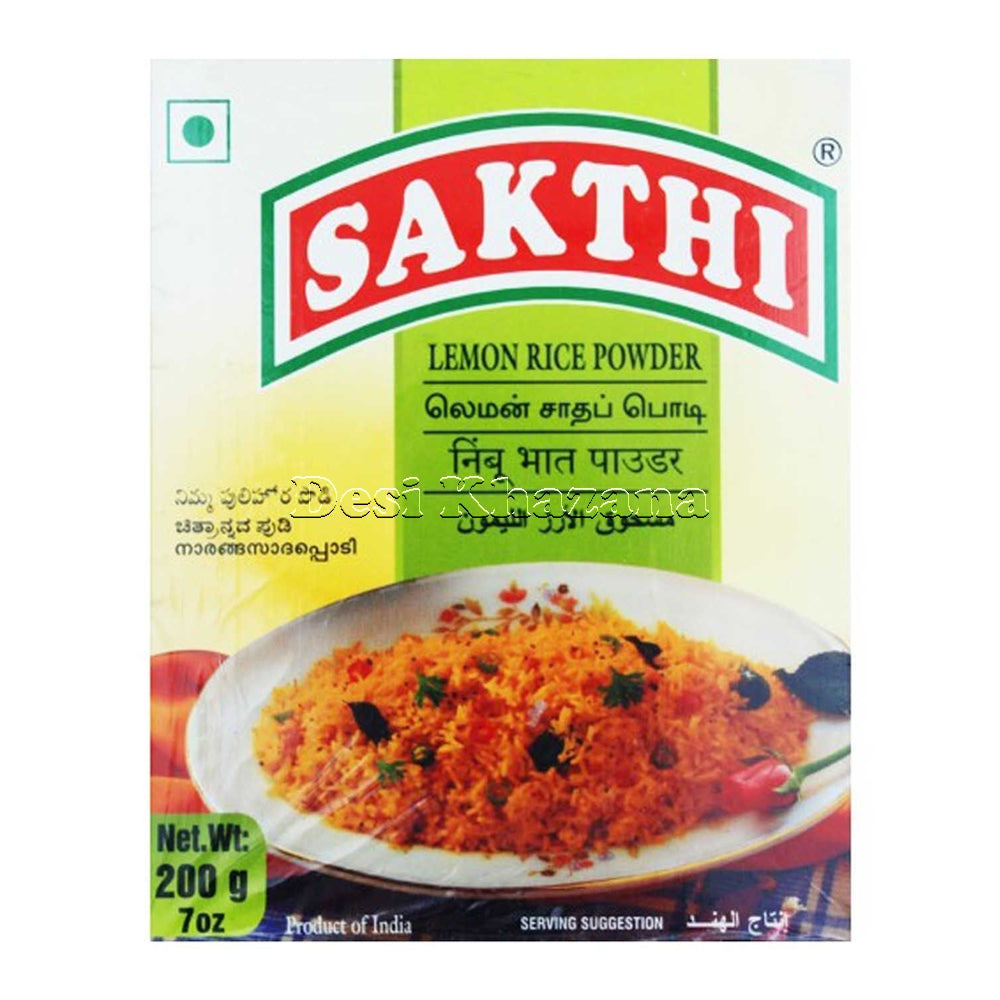 Sakthi Lemon Rice Powder - Desi Khazana
