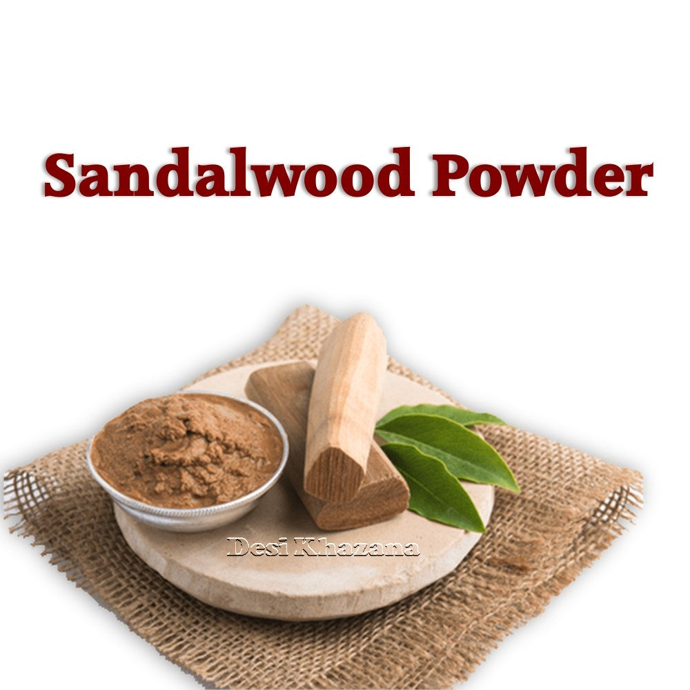 Sandalwood Powder Chandan Powder Desi Khazana