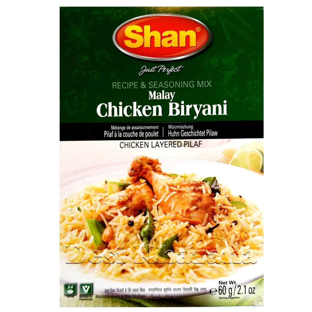 SHAN Chicken Biryani Mix - Desi Khazana