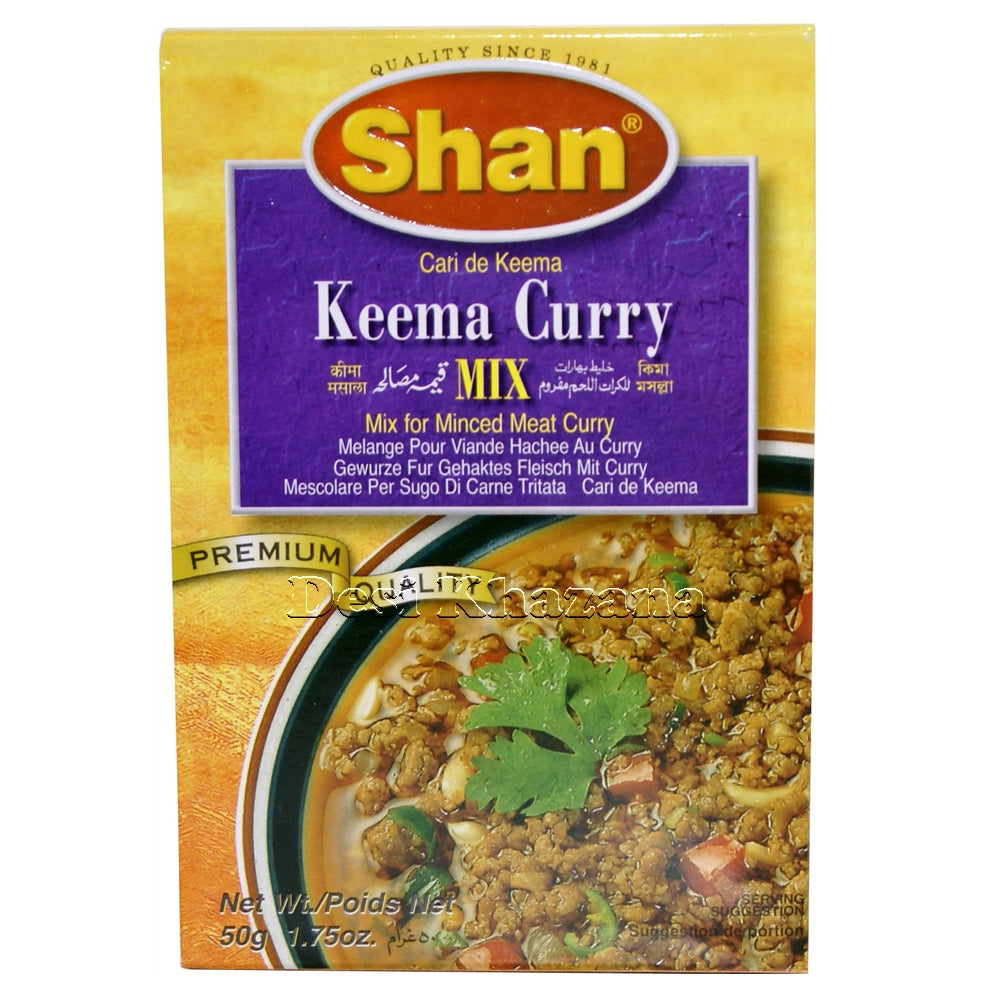 SHAN Keema Curry Mix - Desi Khazana