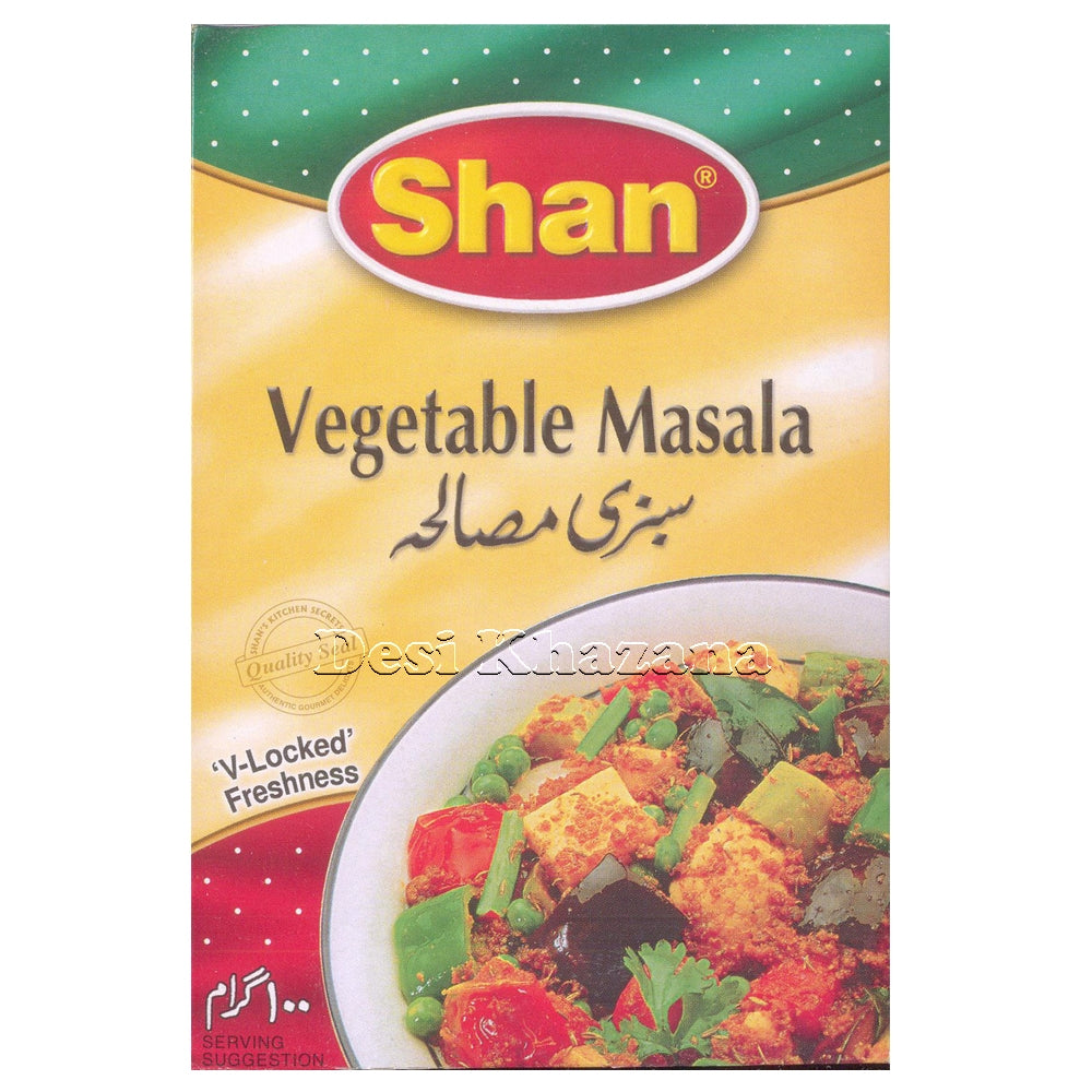 SHAN Vegetable Masala - Desi Khazana