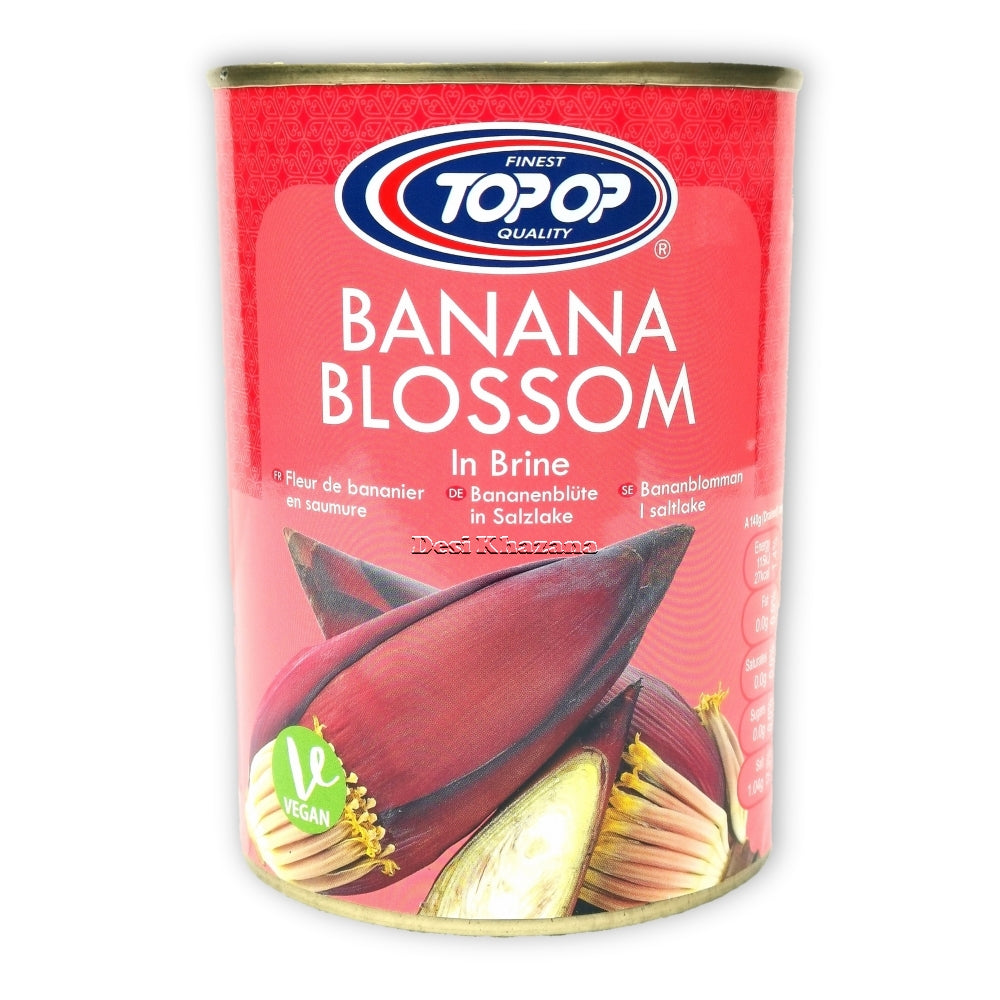 Top Op Banana Blossom In Brine Desi Khazana Indian Grocery Asian Grocery