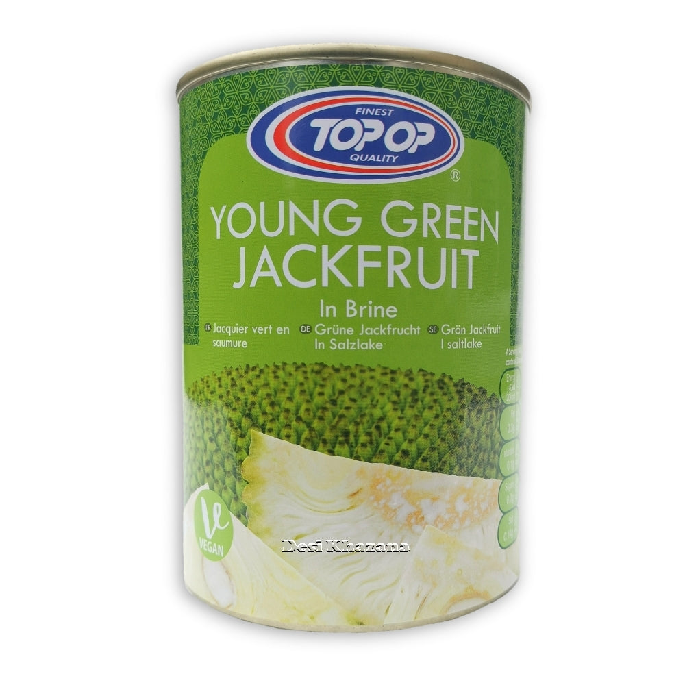 Top Op Young Green Jackfruit In Brine Desi Khazana Indian Grocery Asian Grocery