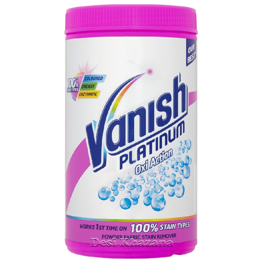 Vanish Platinum Pink Stain Removing Powder 1.41 Kg - Desi Khazana