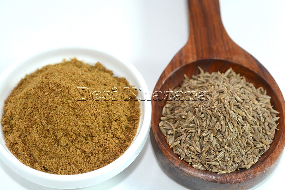 Desi Khazana Cumin Seed Powder (Jeera Powder) (Sample) - Desi Khazana