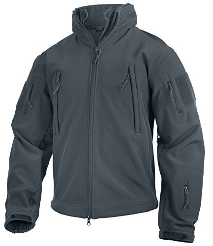 Special Ops Tactical Soft Shell Jacket,  Metal Gray, X-Large