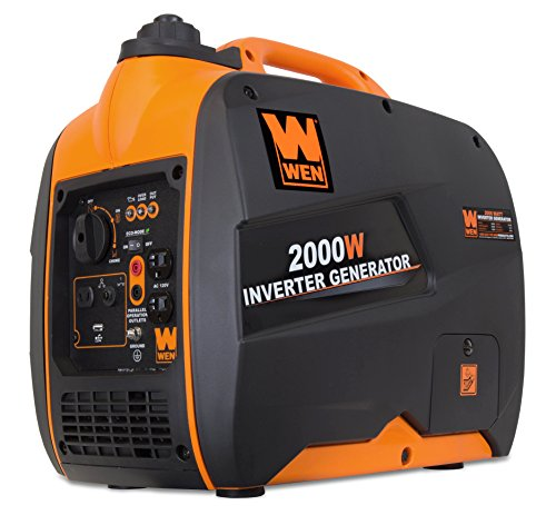 Portable Inverter Generator - Super Quiet 2000-Watt