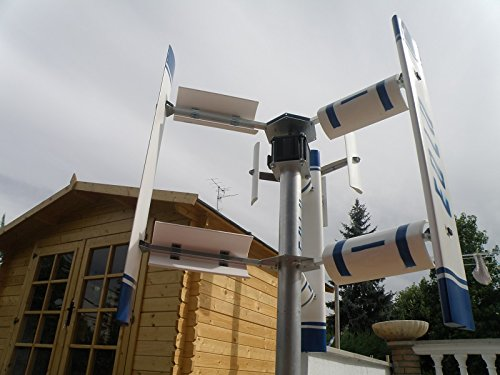 Small vertical axis wind turbine generator | 3KW