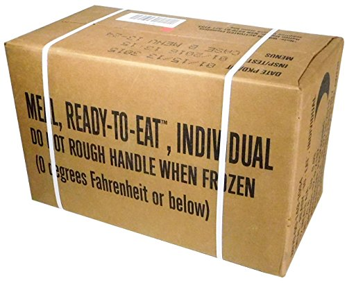 Meals Ready-to-Eat, Genuine U.S. Military Surplus.
