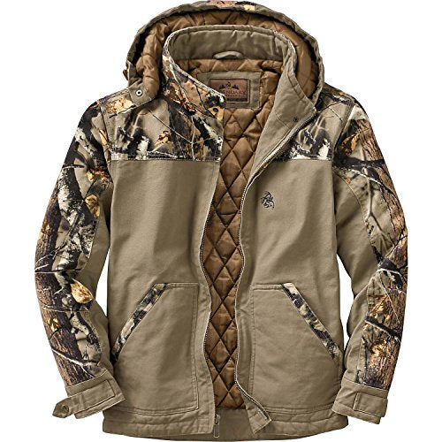 Canvas Cross Trail Workwear Jacket Stone X-Large