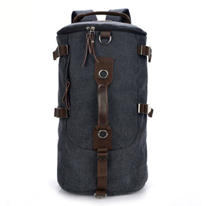 Canvas Tactical Backpack Military -Trekking Bag Utility Backpack Storage T